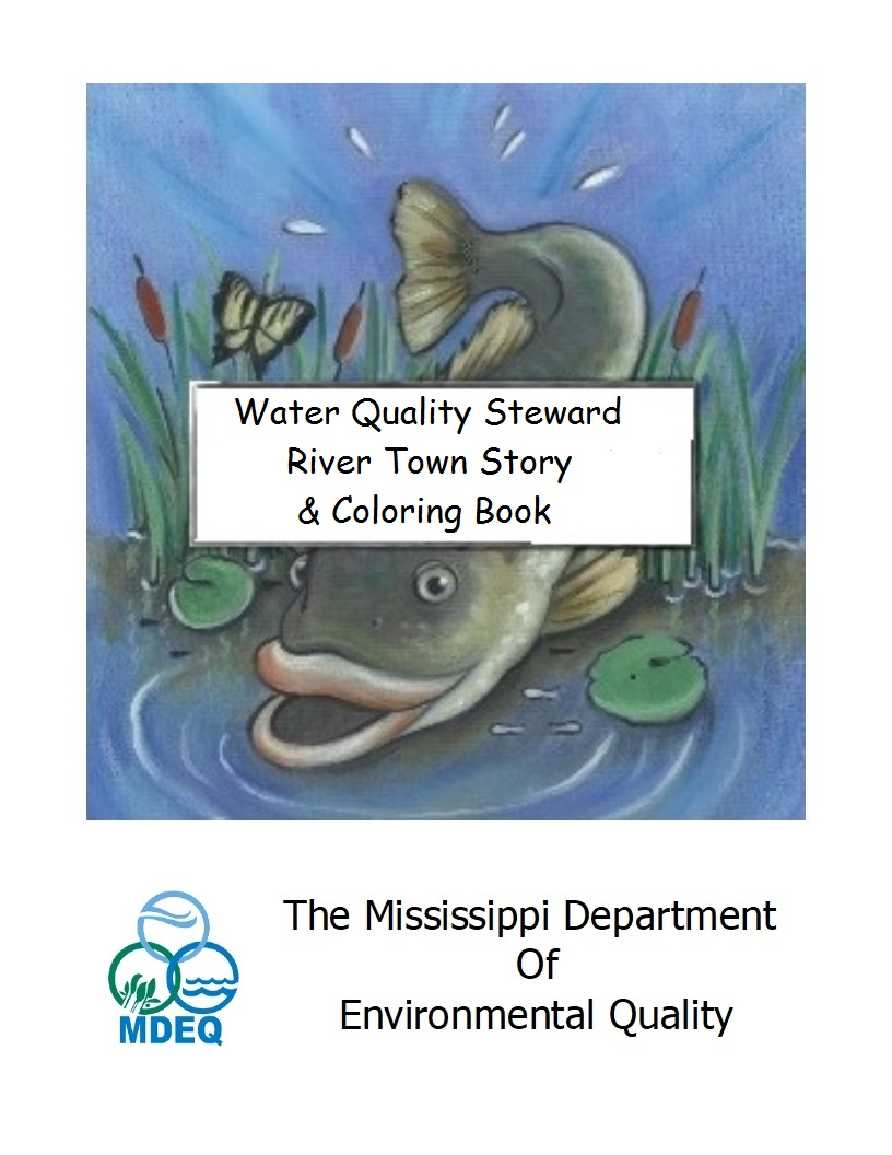 Water Quality Steward River Town Story and Coloring Book